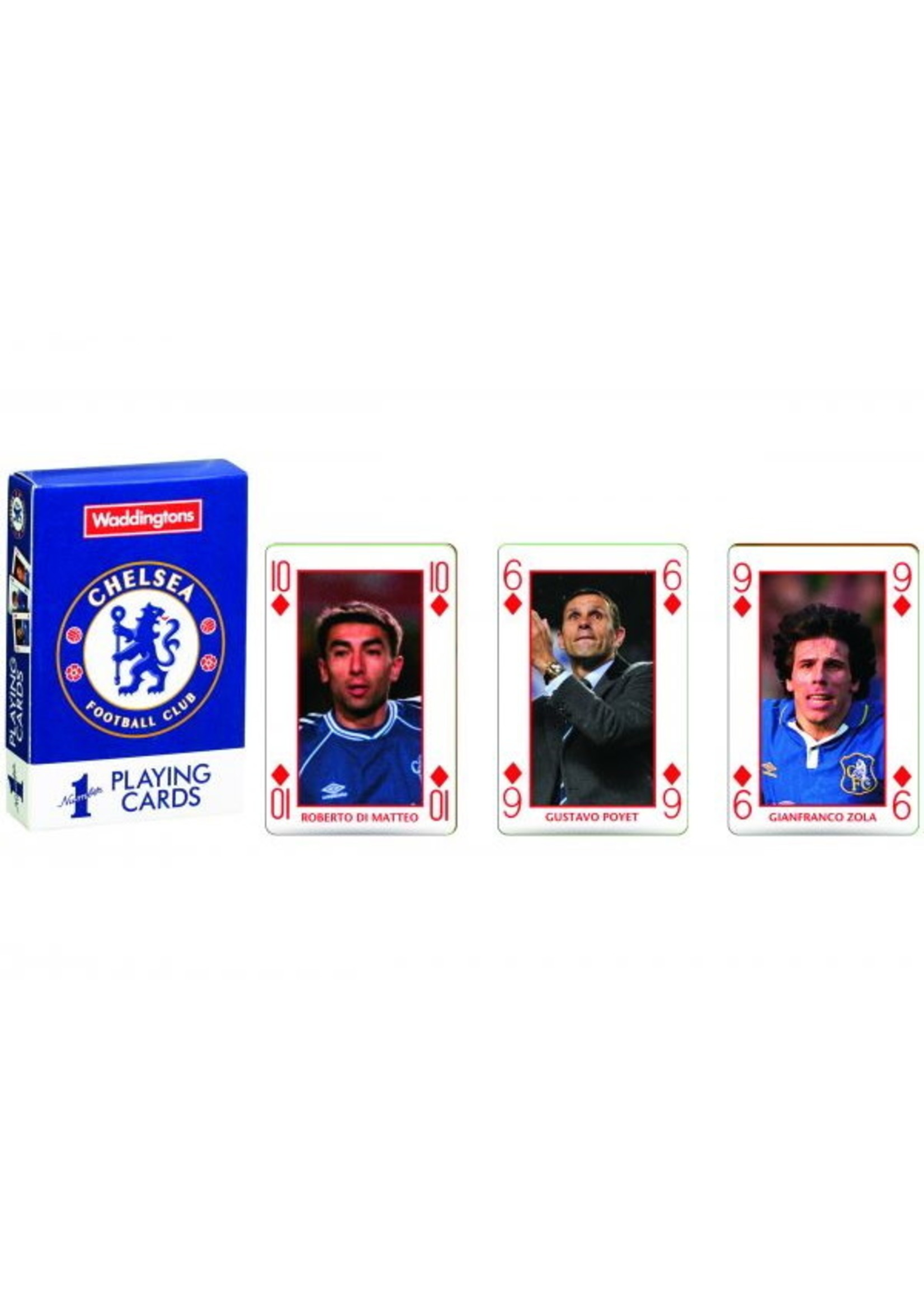 Chelsea Legends Playing Cards