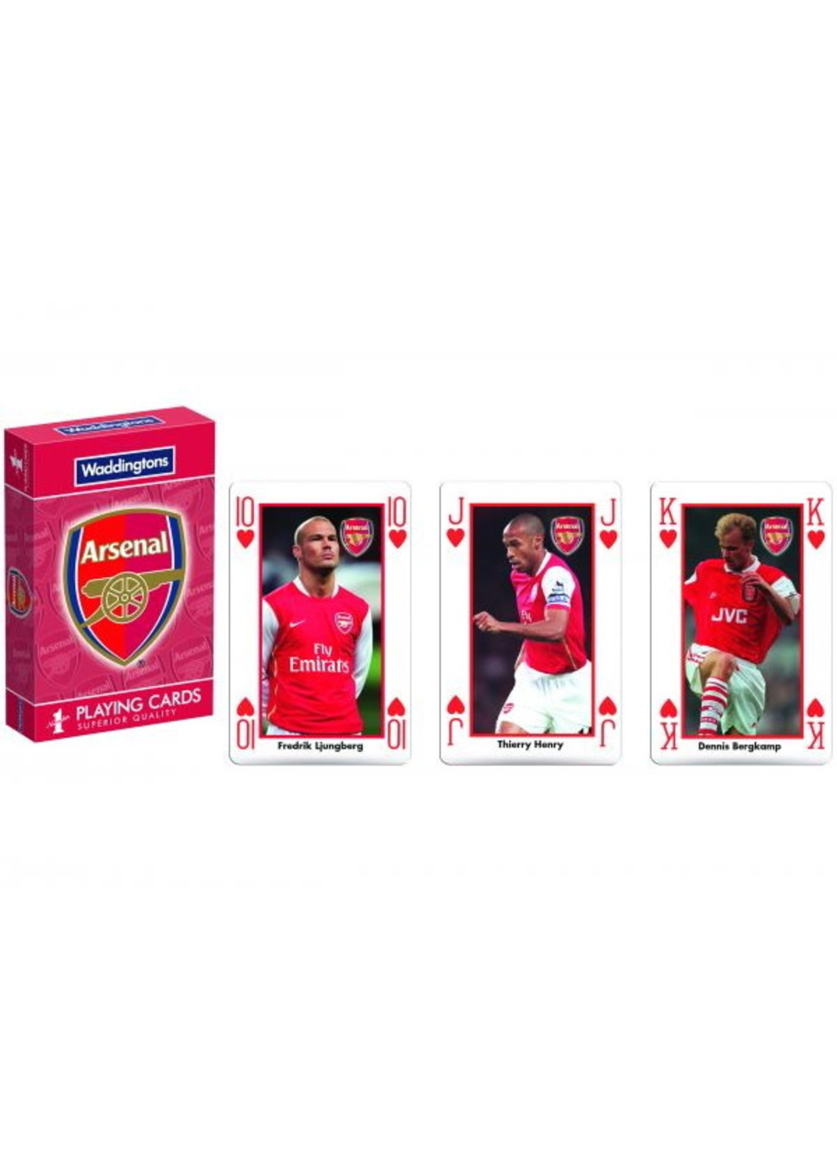Arsenal Legends Playing Cards