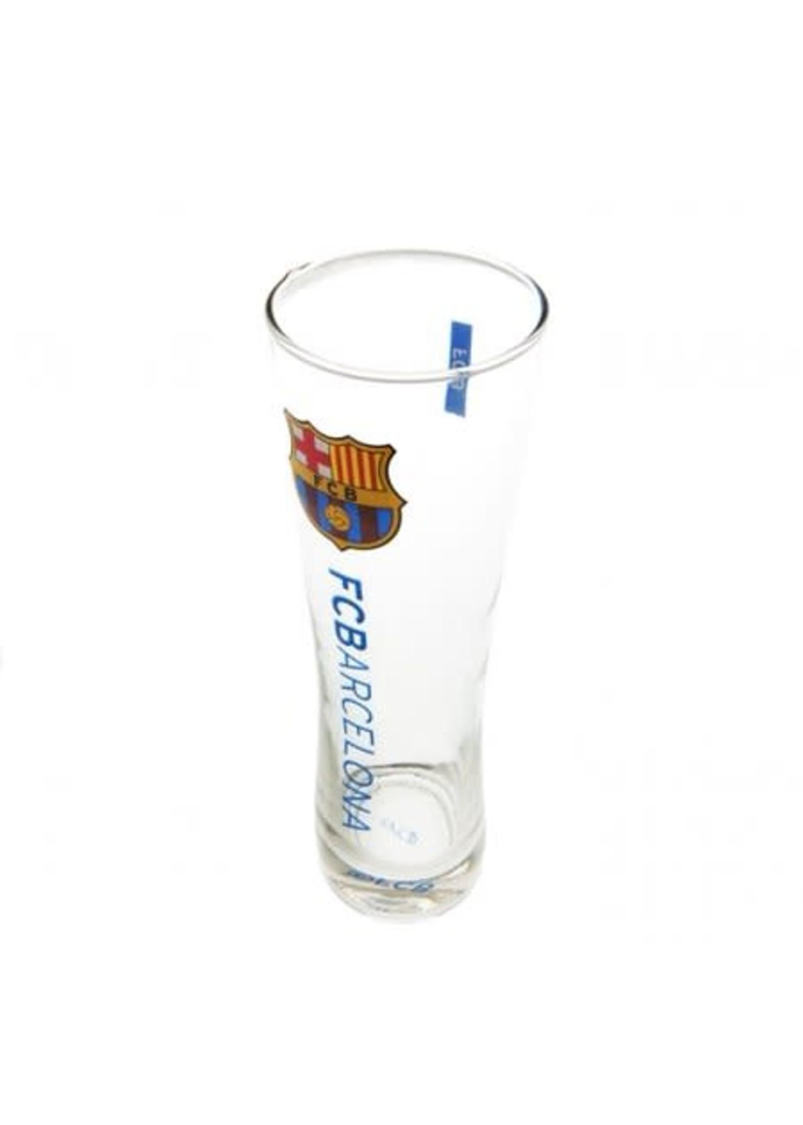 FC Barcelona Tall Slim Pint Glass