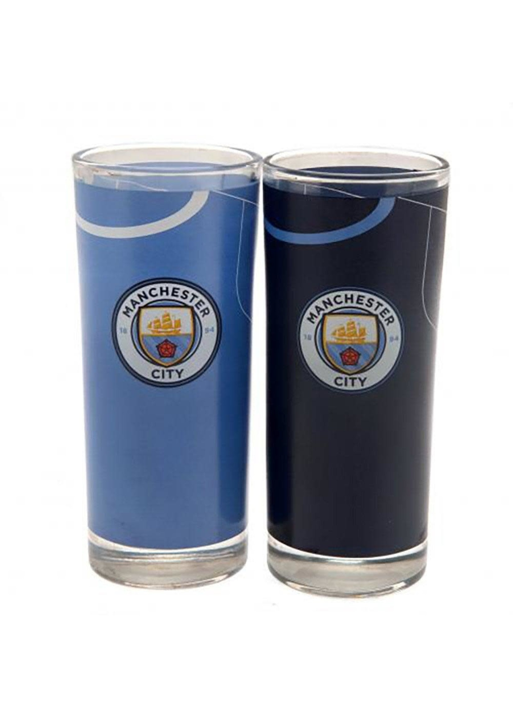 Manchester City Highball Glasses - 2 pack
