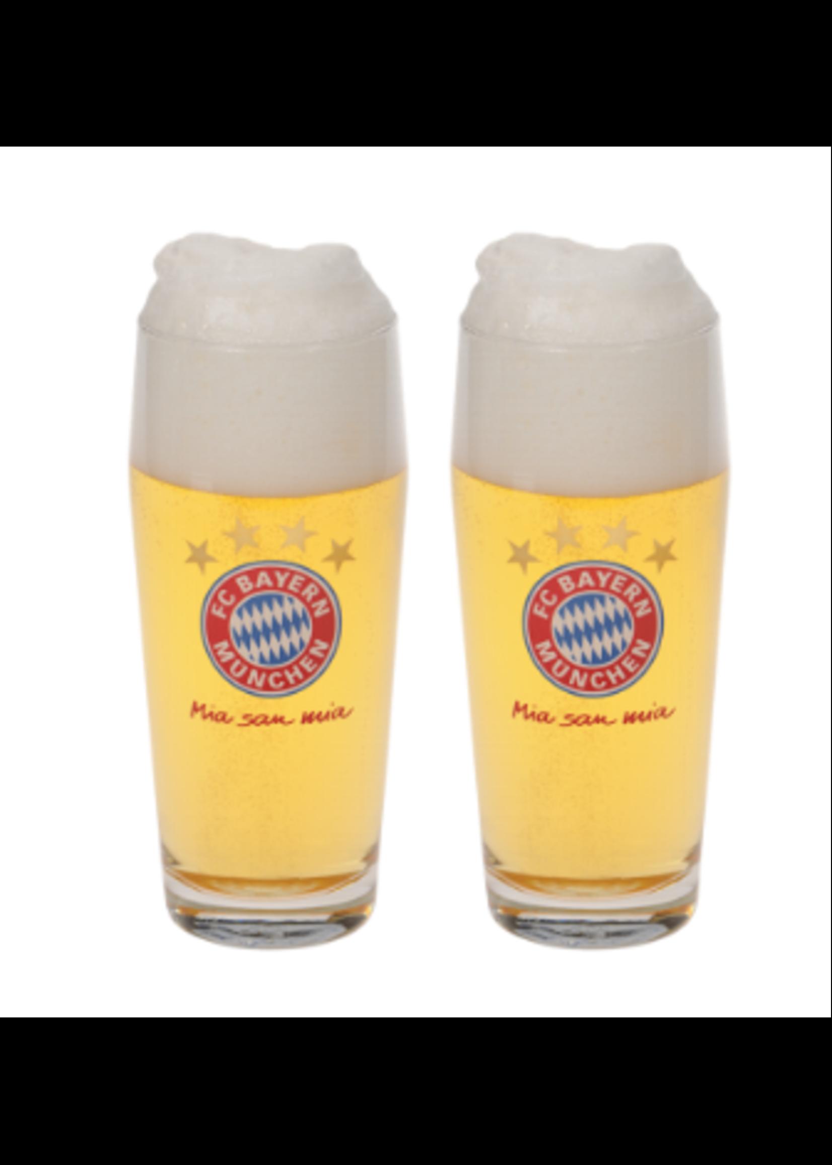 FC Bayern Munich Pint Glasses - 2 Pack