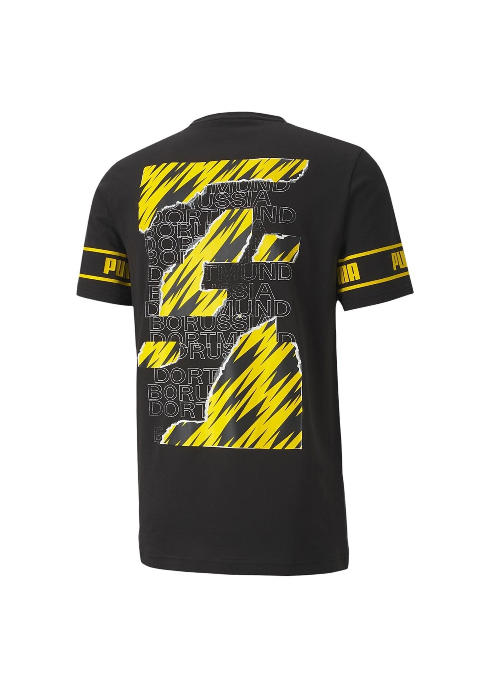 Puma Borussia Dortmund T-Shirt - 20/21 Away