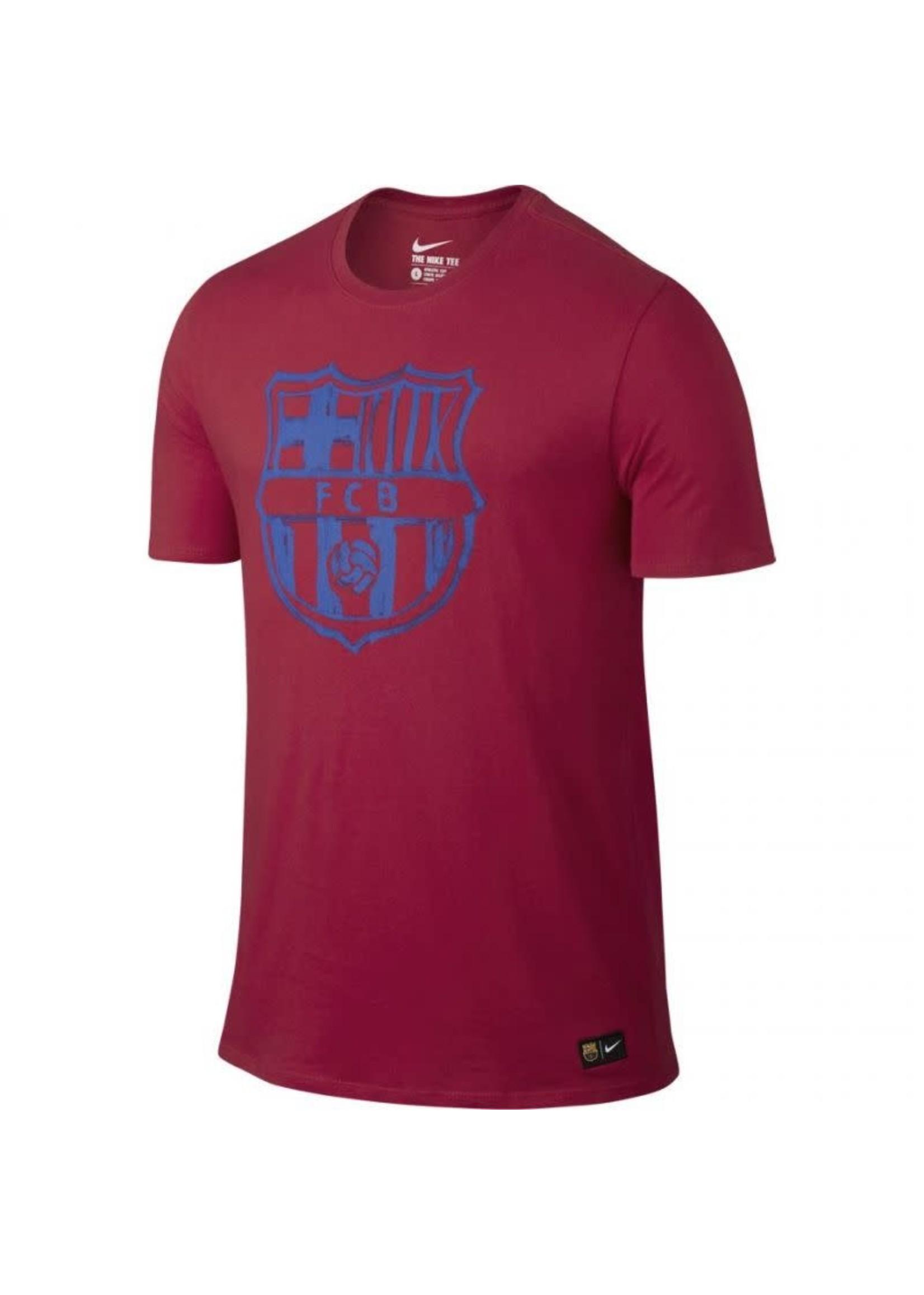 Nike Barcelona T-Shirt - Red/Blue