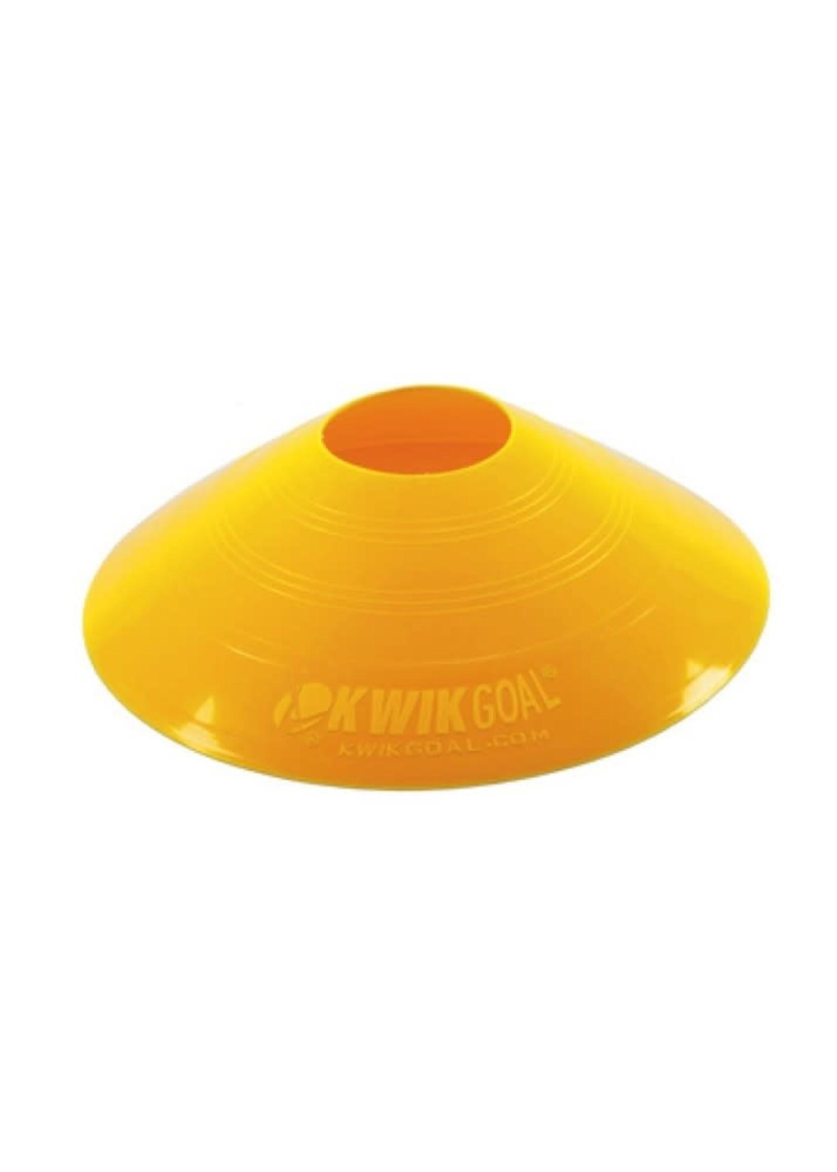 Kwik Goal Disc Cones Yellow