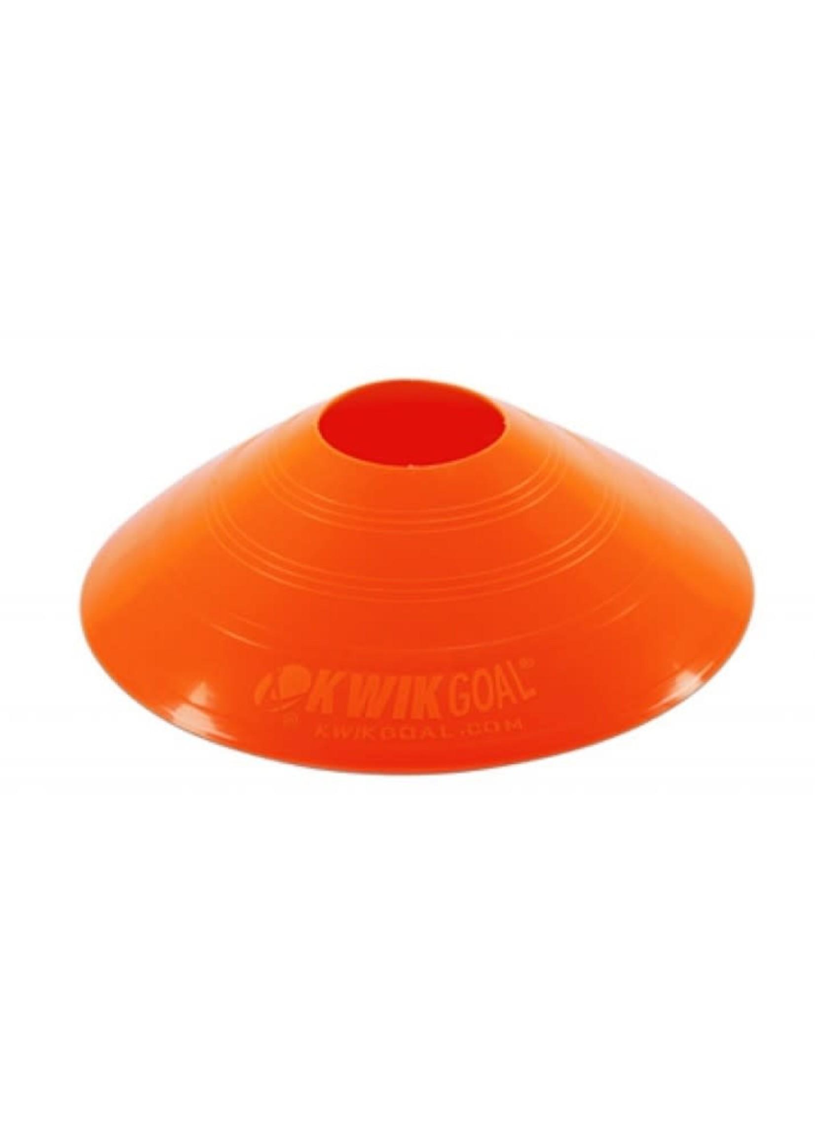 Kwik Goal Disc Cones Orange
