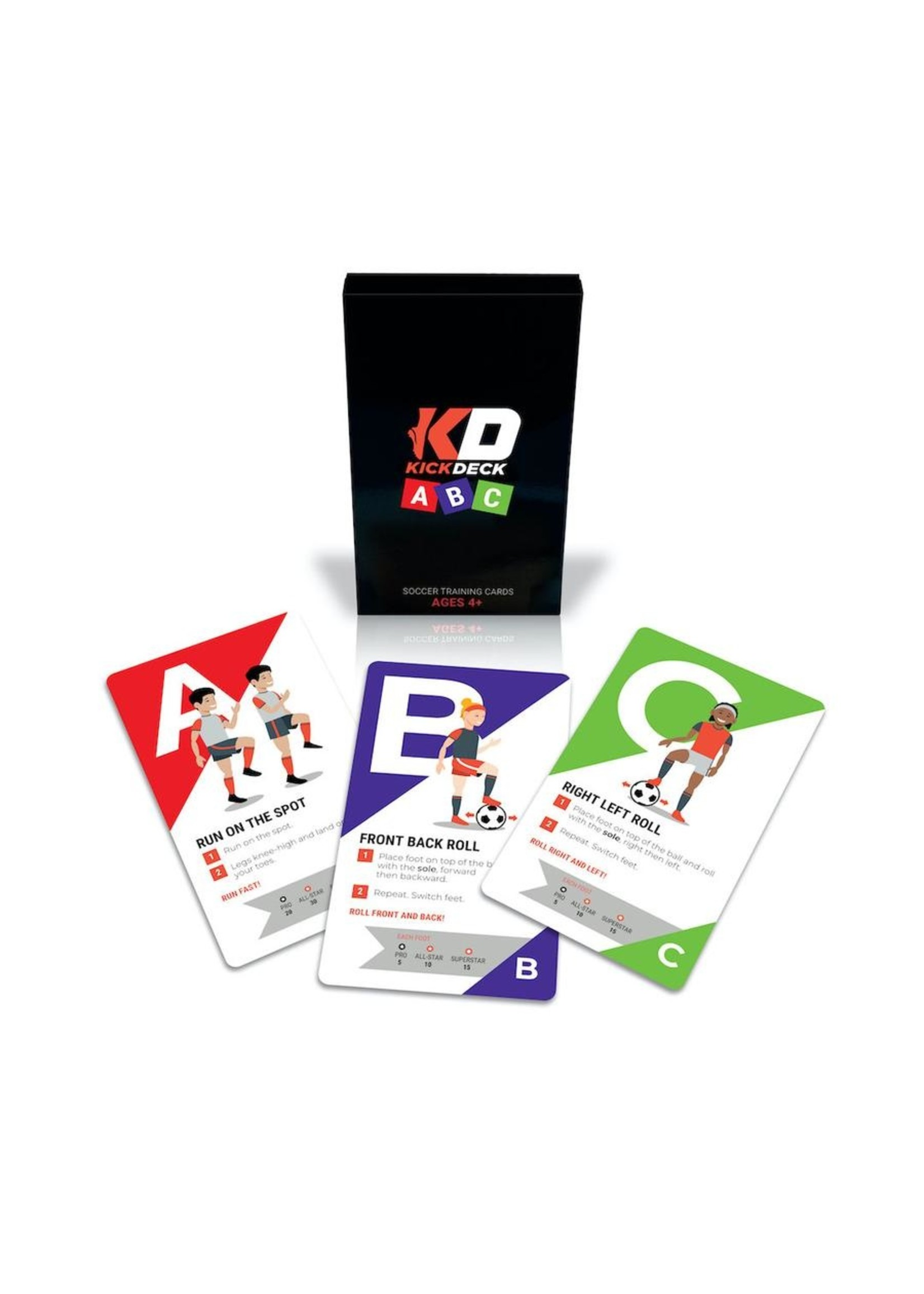 KickDeck ABC Cards