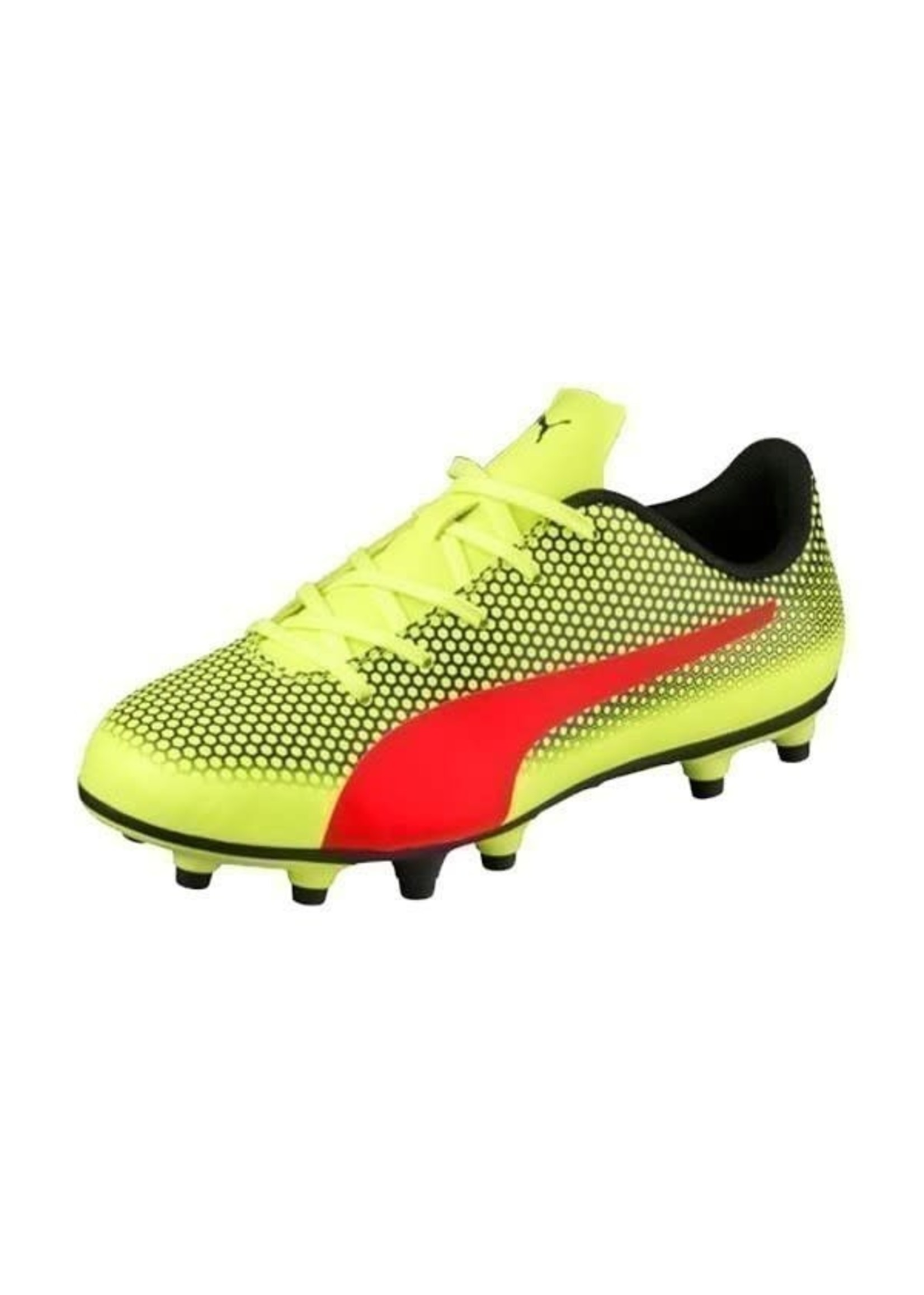 Puma Spirit FG Jr - Yellow/Red