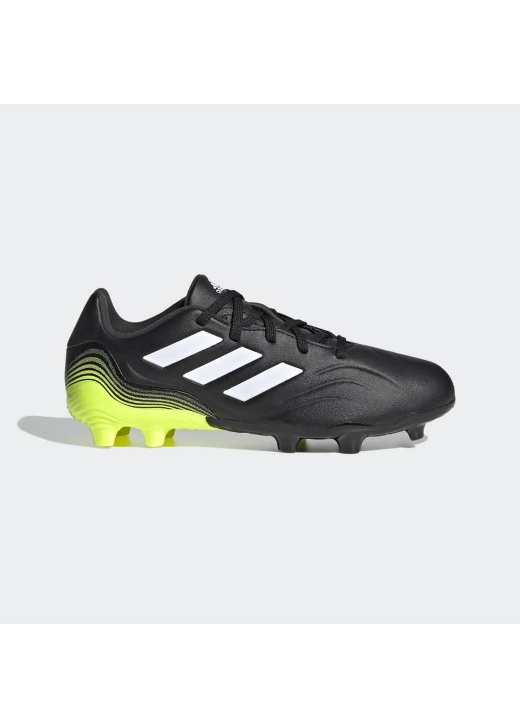 Adidas Copa Sense.3 FG Jr - Black/Volt