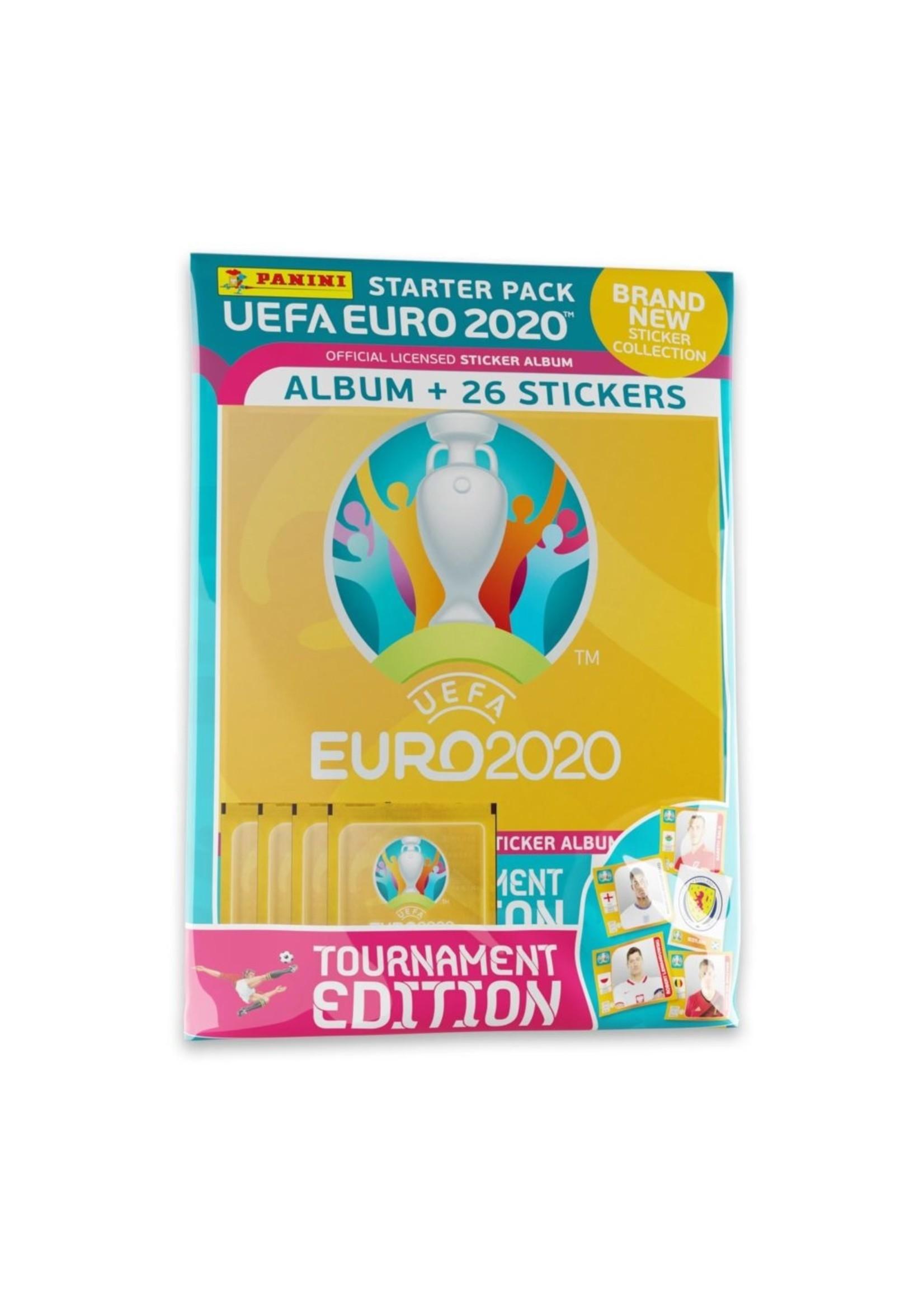 Panini Euro 2020-21 Tournament Edition Stickers - Starter Pack