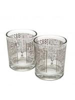 Tottenham Wiskey Glasses - 2 Pack