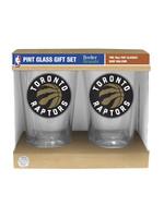 Toronto Raptors Pint Glass Set - 2 pack