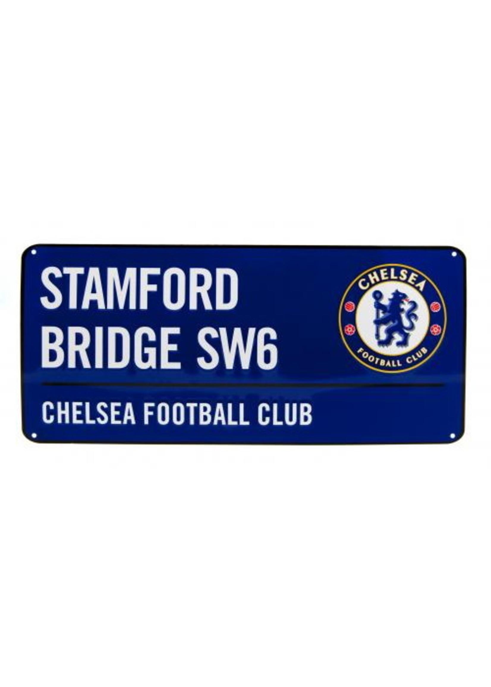 Chelsea Stamford Bridge SW6 Street Sign - Blue