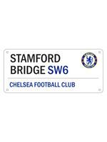 Chelsea Stamford Bridge SW6 Street Sign - White