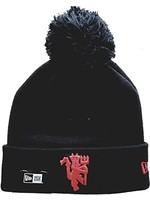 Manchester United Beanie - Black Pom