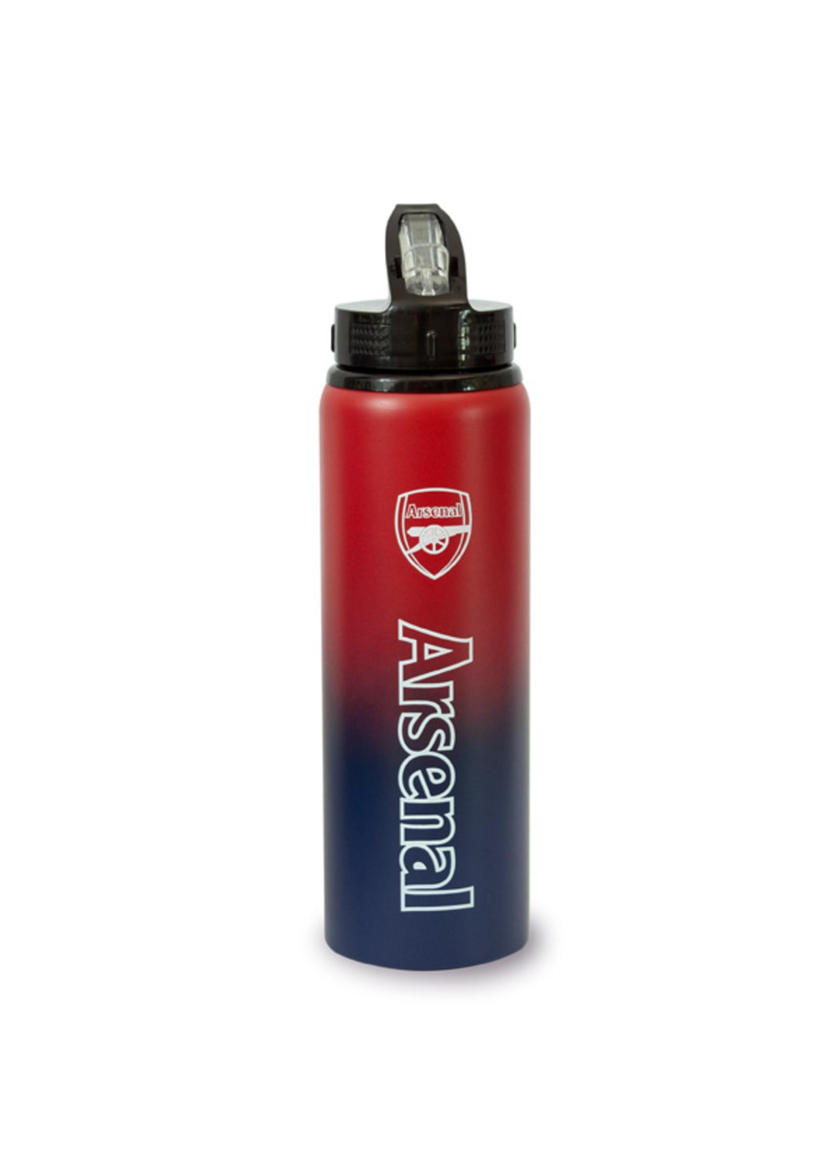Arsenal Aluminum Straw Water Bottle