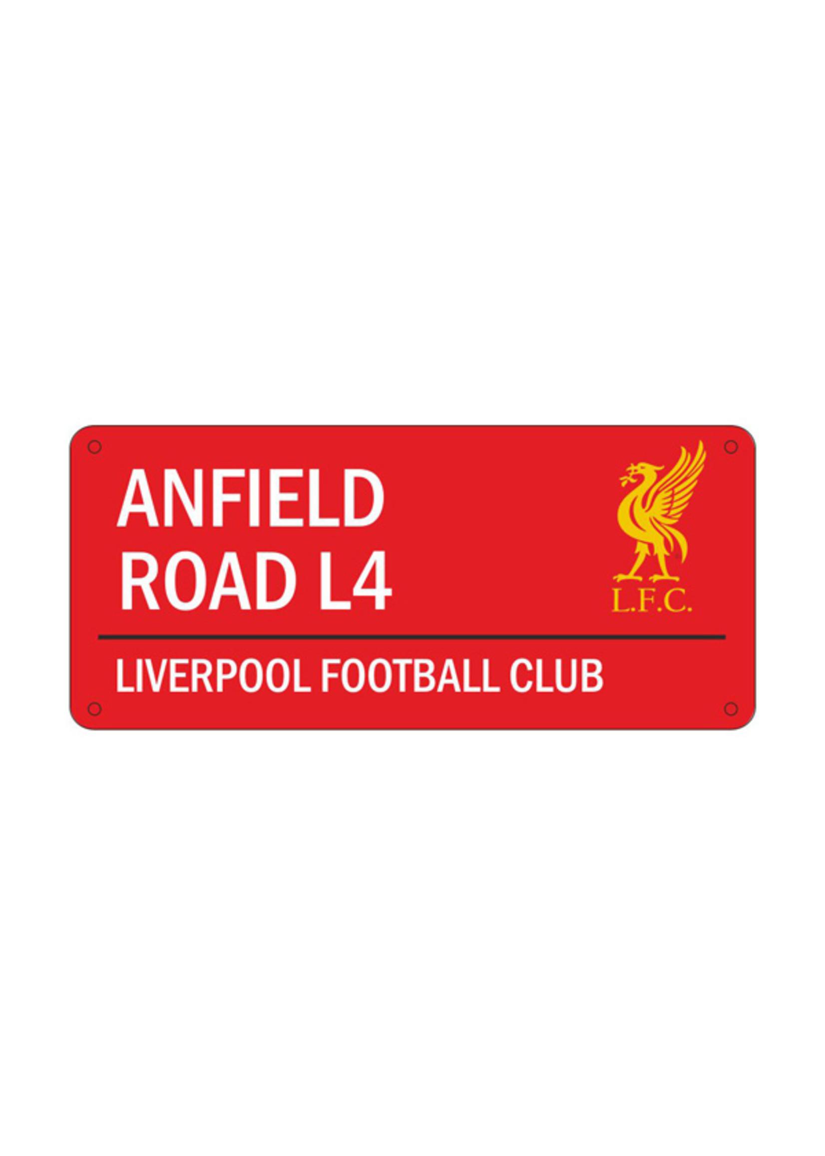 Liverpool Anfield Road L4 Street Sign