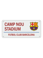 FC Barcelona Camp Nou Stadium Street Sign