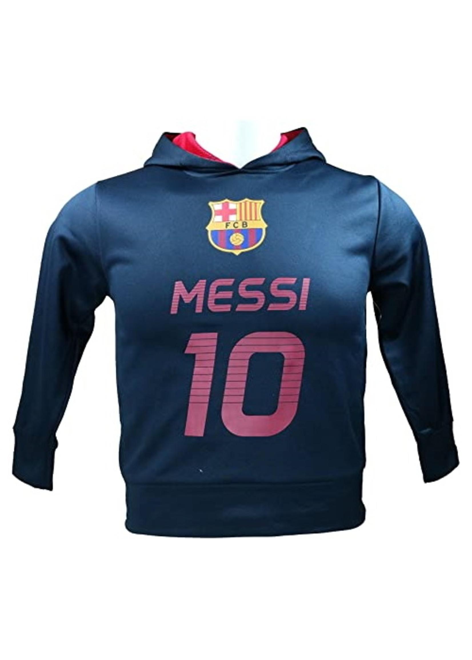 Barcelona Navy Lionel Messi Hoodie