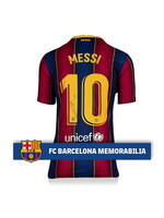 Lionel Messi Authentic Signed 20/21 FC Barcelona Jersey