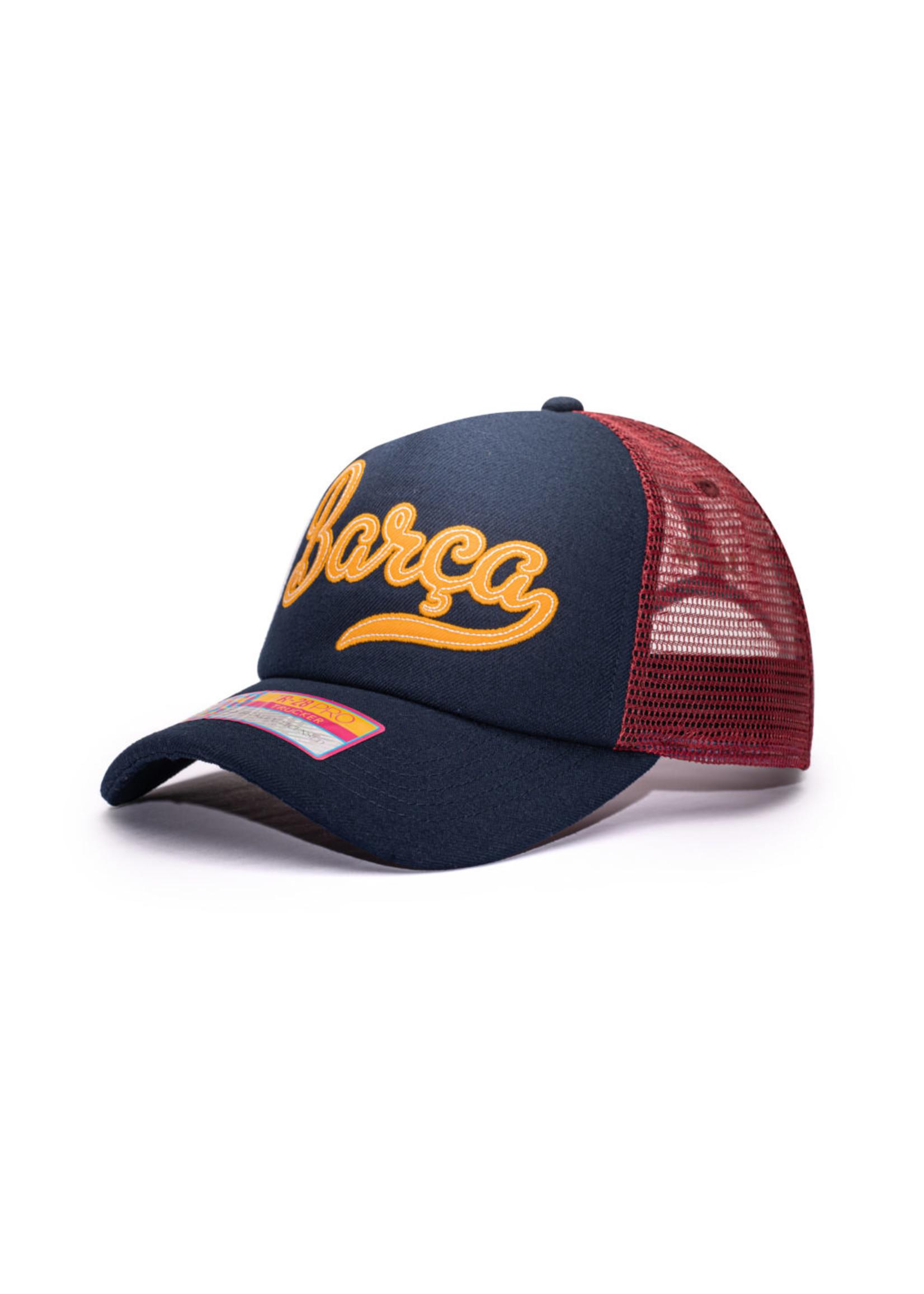 Barcelona Retro Trucker Hat