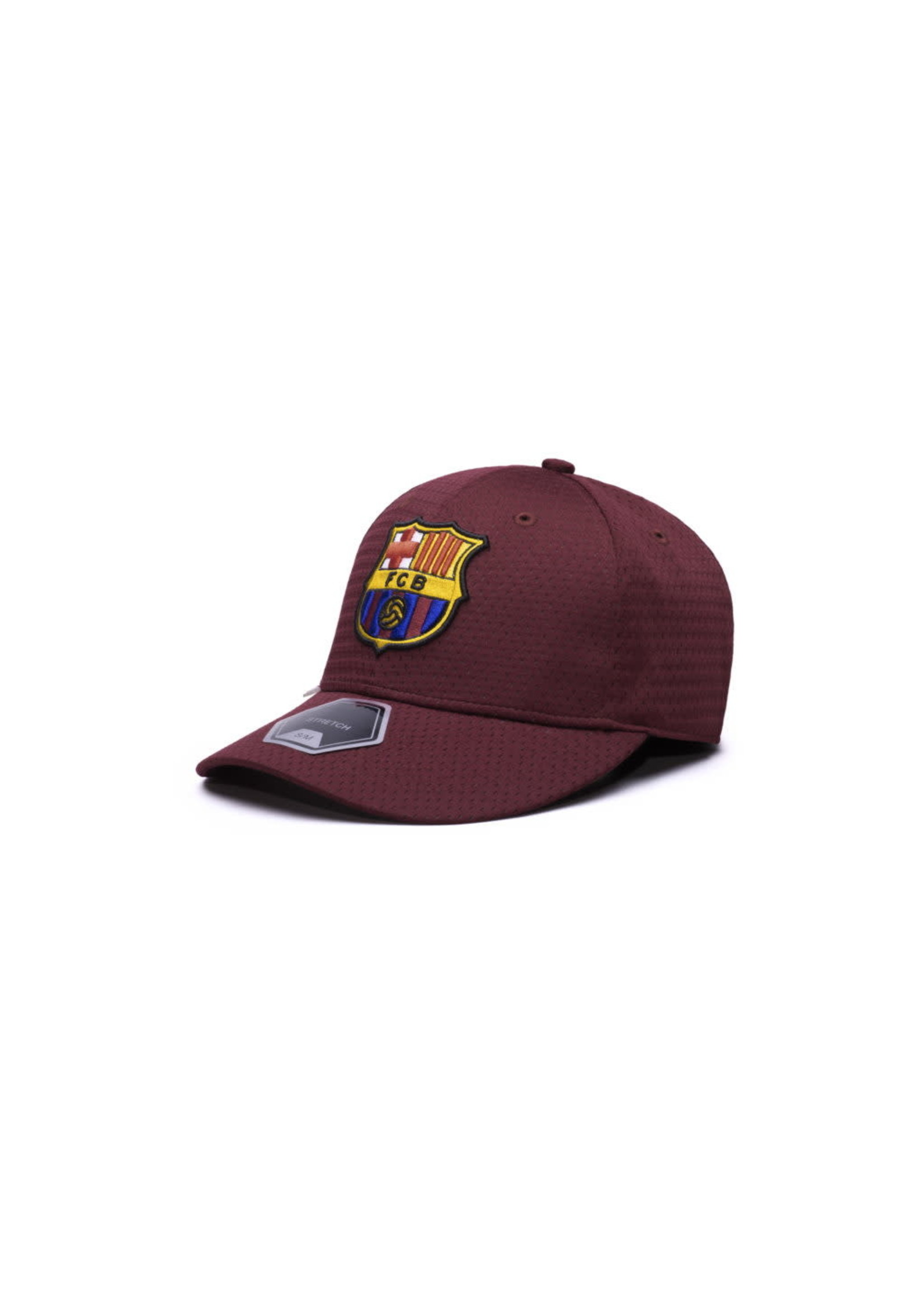 Barcelona Premium Burgundy Stretch Baseball Hat