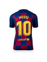 Lionel Messi Authentic Signed 19/20 FC Barcelona Jersey