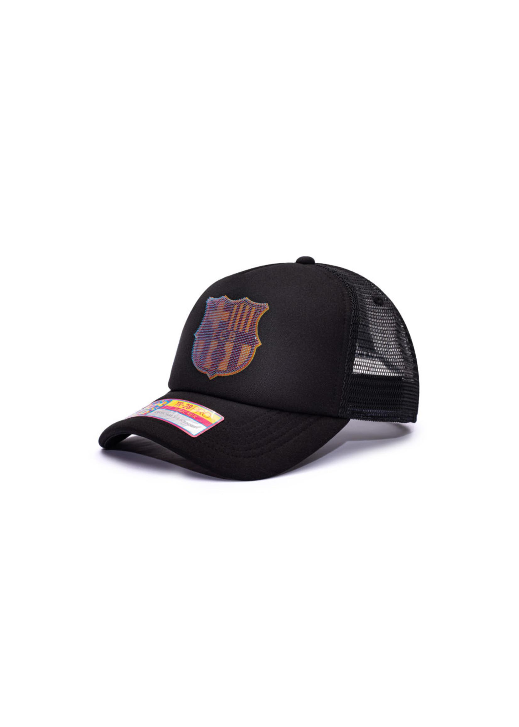 Barcelona Shield Trucker Snapback Hat