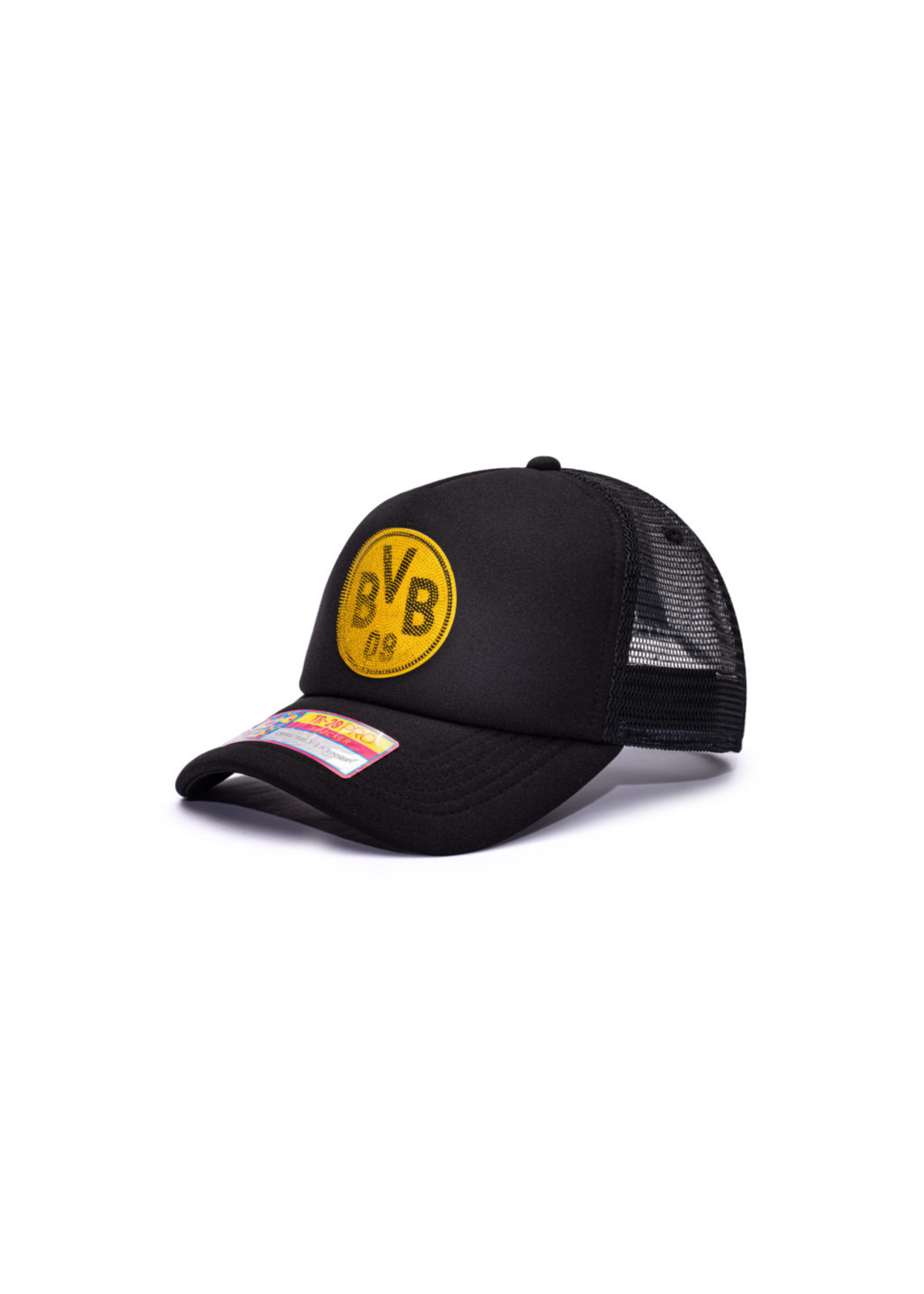 Borussia Dortmund Shield Trucker Snapback Hat