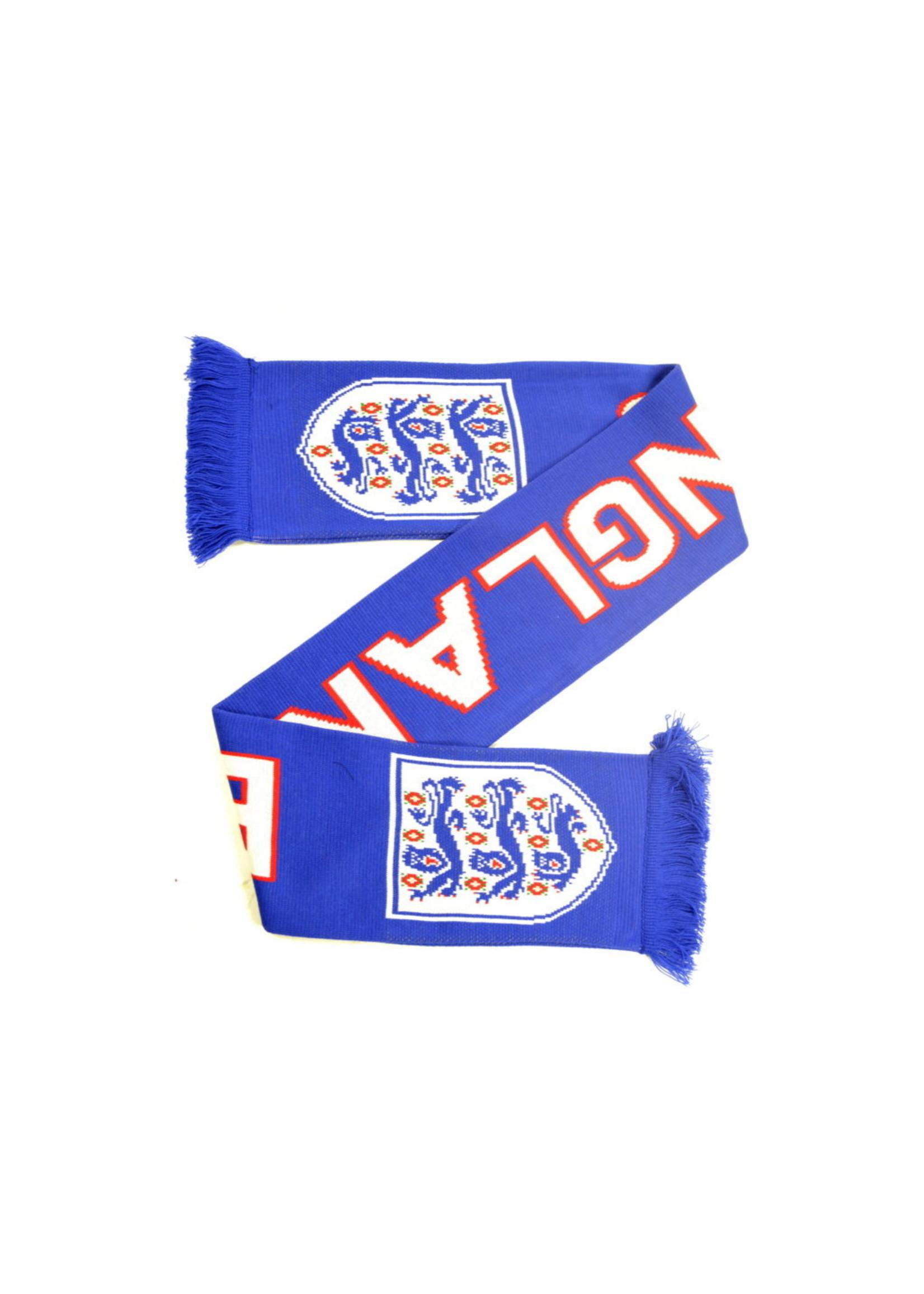 England Blue 3 Lions Scarf