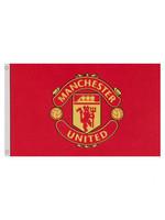 Manchester United Core Crest Flag