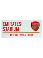 Arsenal White Street Sign