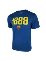Barcelona Royal Blue 1899 Poly Cotton T-Shirt