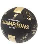Liverpool Black EPL Champions Soccer Ball