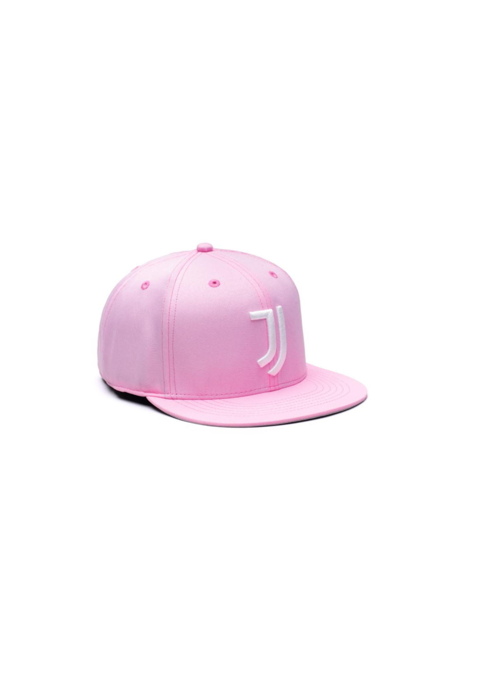 Juventus Pink Retro Flat Peak Snapback