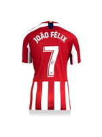 Authentic Signed Joao Felix 19/20 Atletico Madrid Jersey