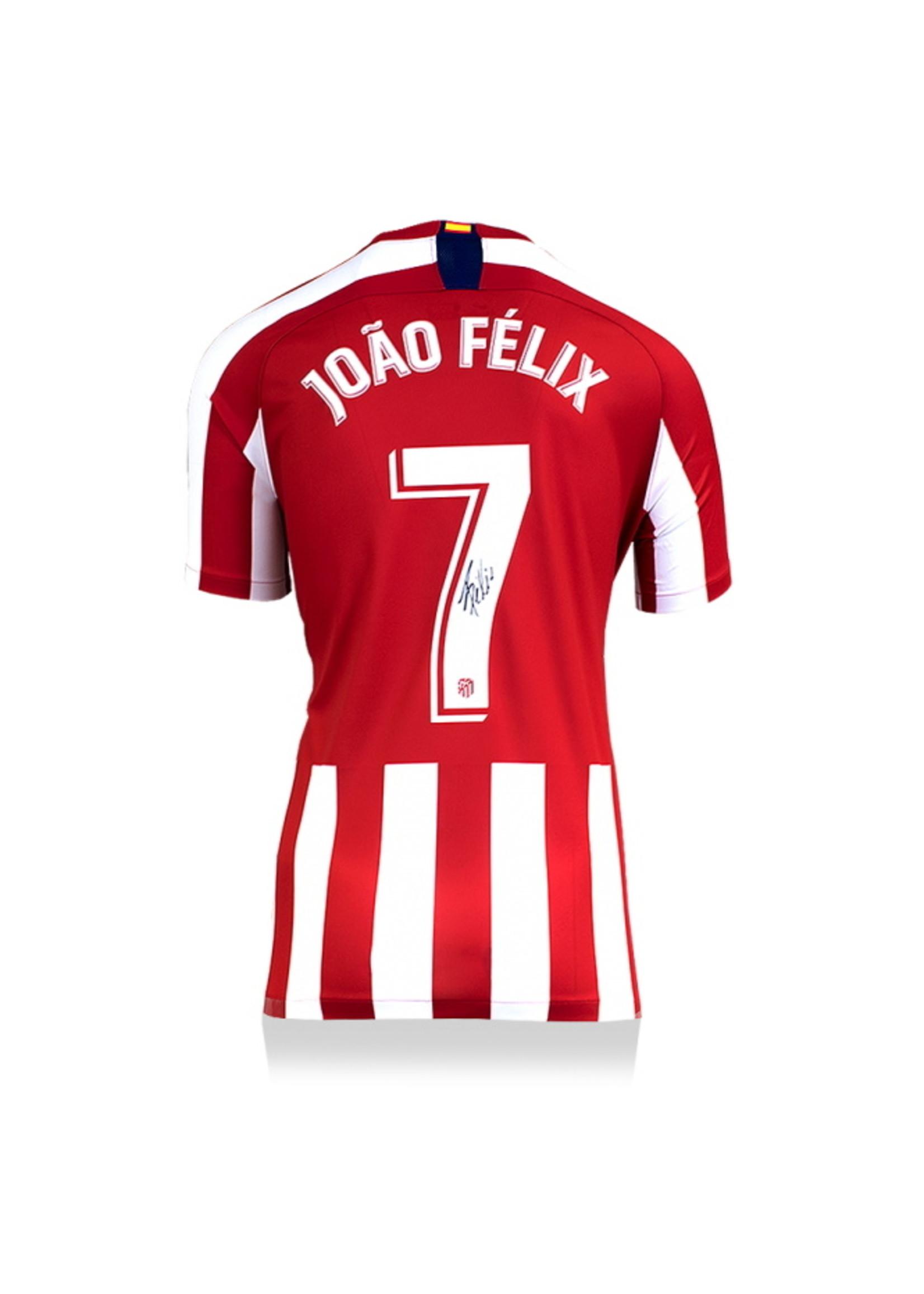 Authentic Signed Joao Felix 19/20 Atletico Madrid Jersey