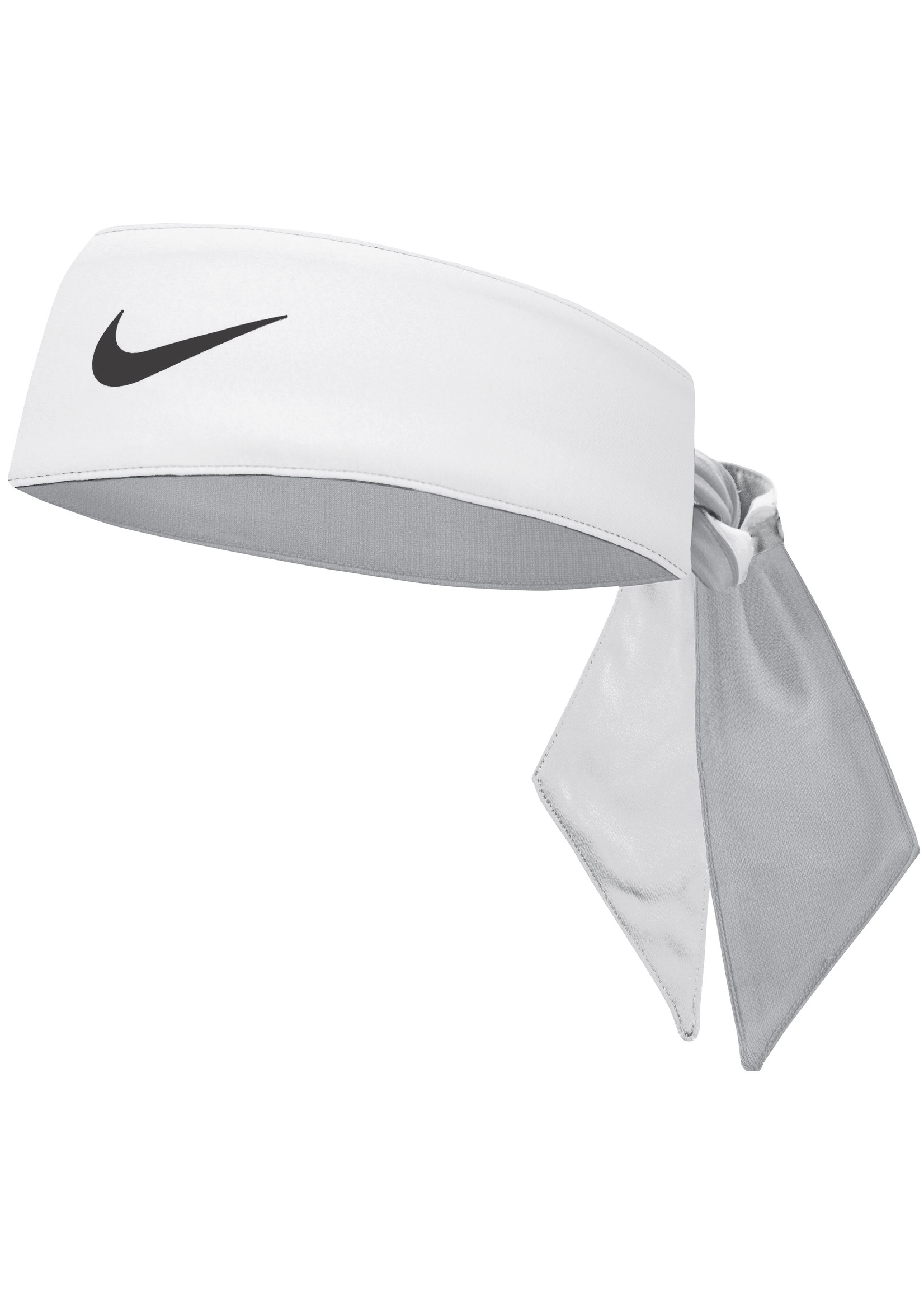 Nike Cooling Head Tie White/Wolf Grey