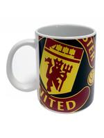 Manchester United Halftone Mug