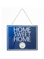 Manchester City Home Sweet Home Sign