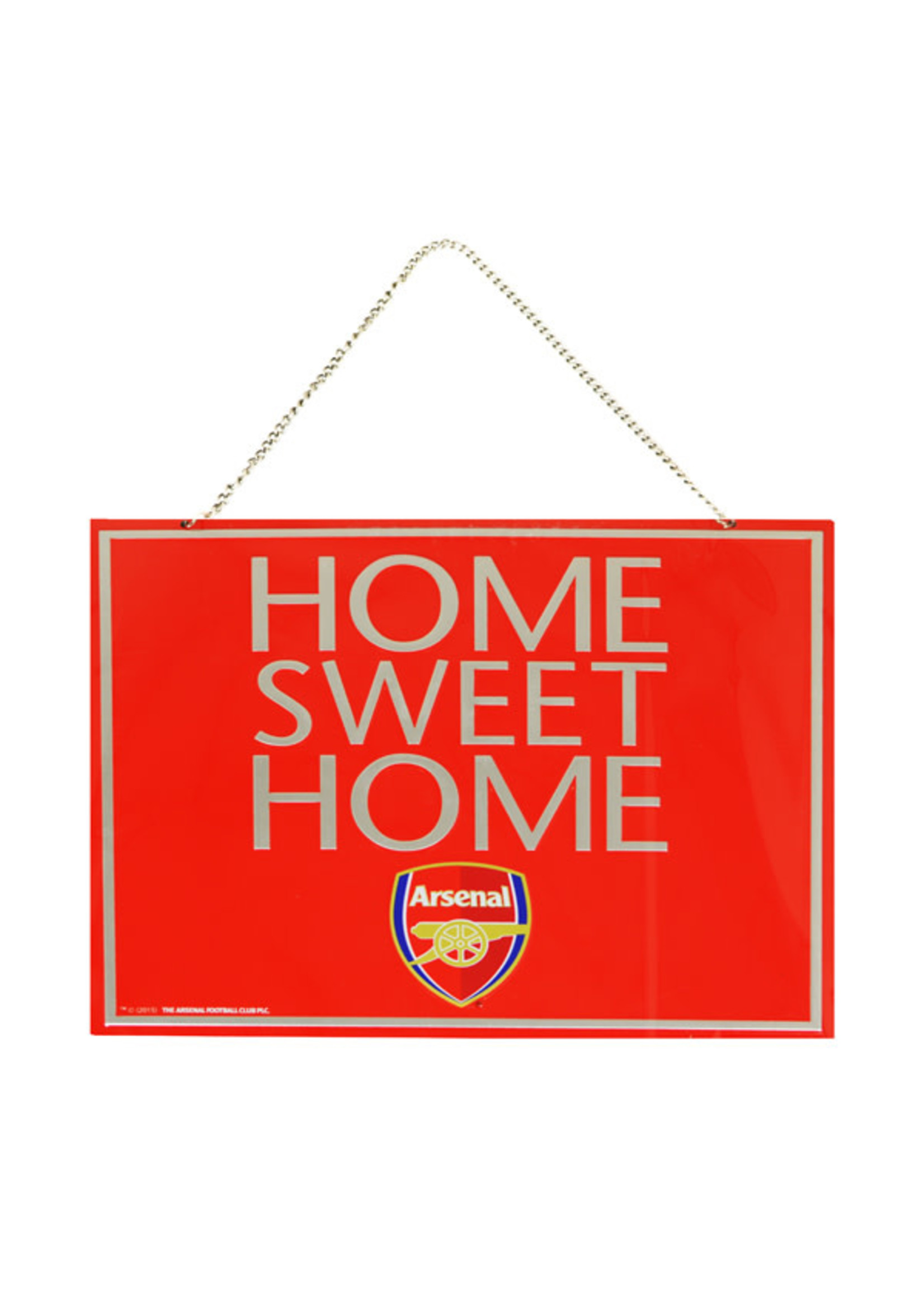 Arsenal Home Sweet Home Sign