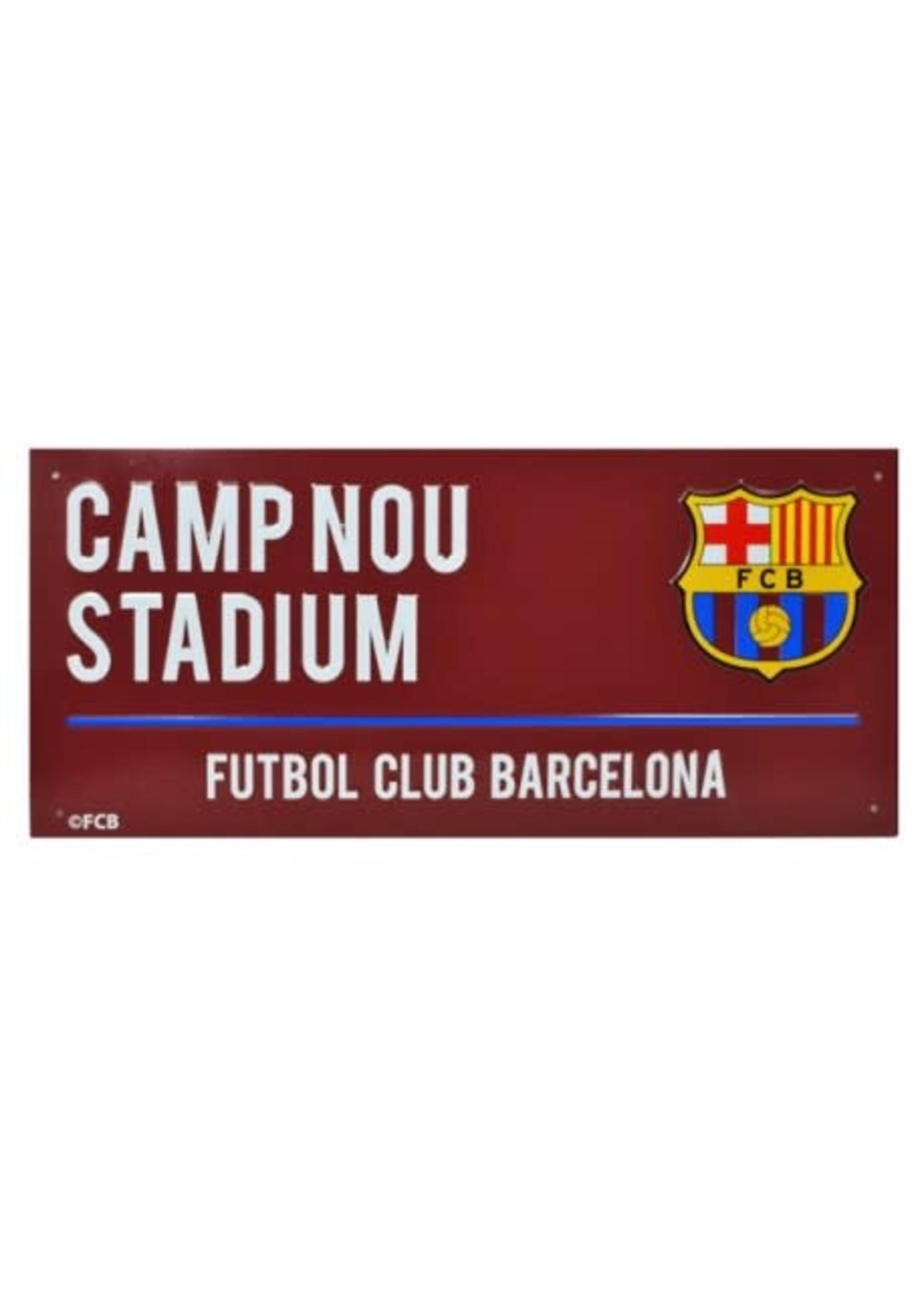 Barcelona Burgundy Street Sign