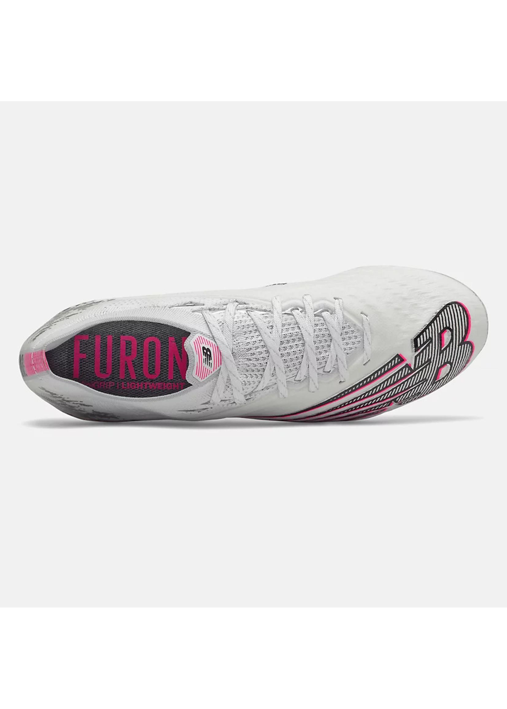 New Balance Furon V6+ Pro FG - White/Pink