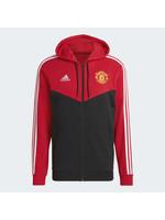 Adidas Manchester United 3S Full Zip Hoodie