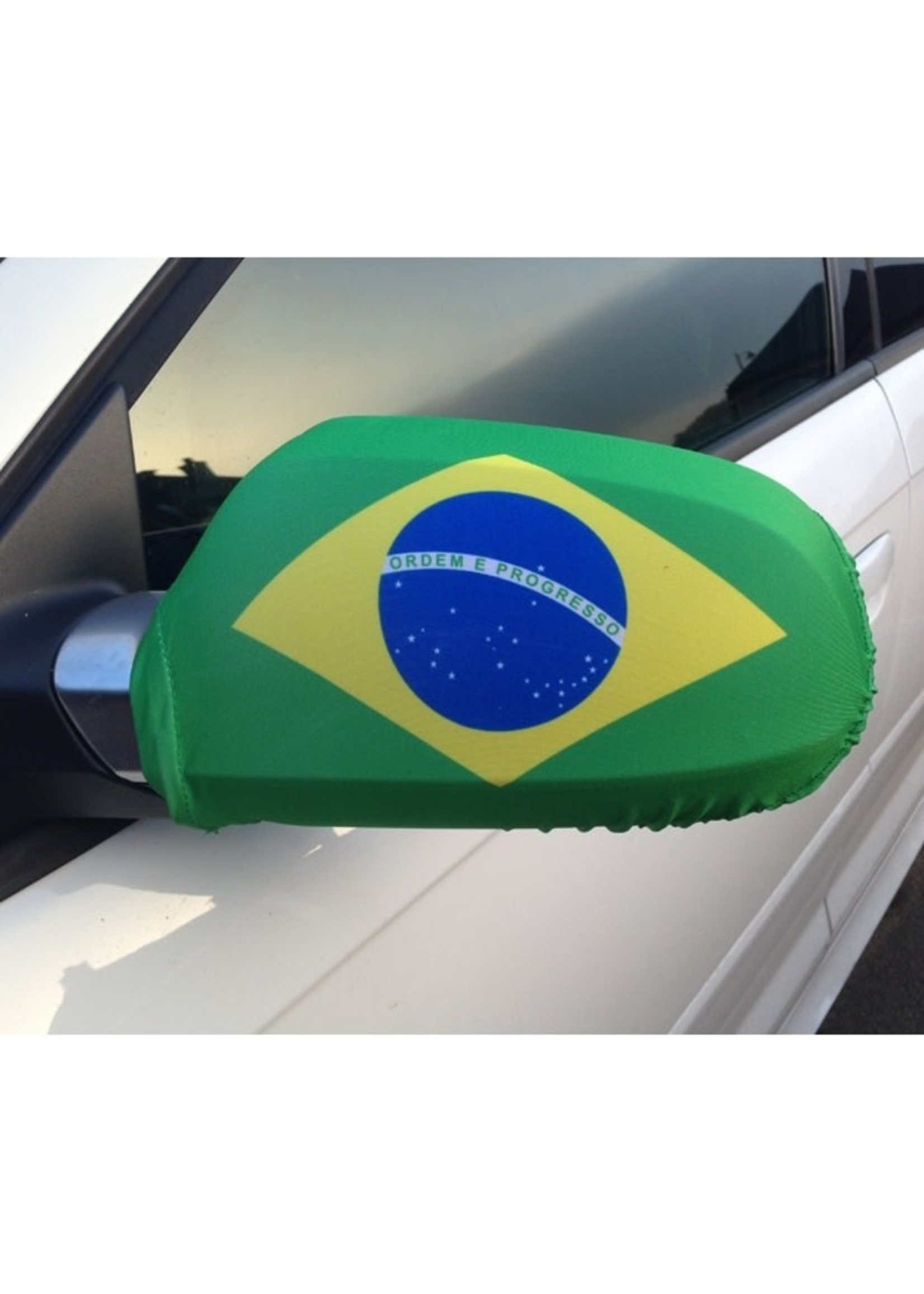 Brazil Car Mirror Covers