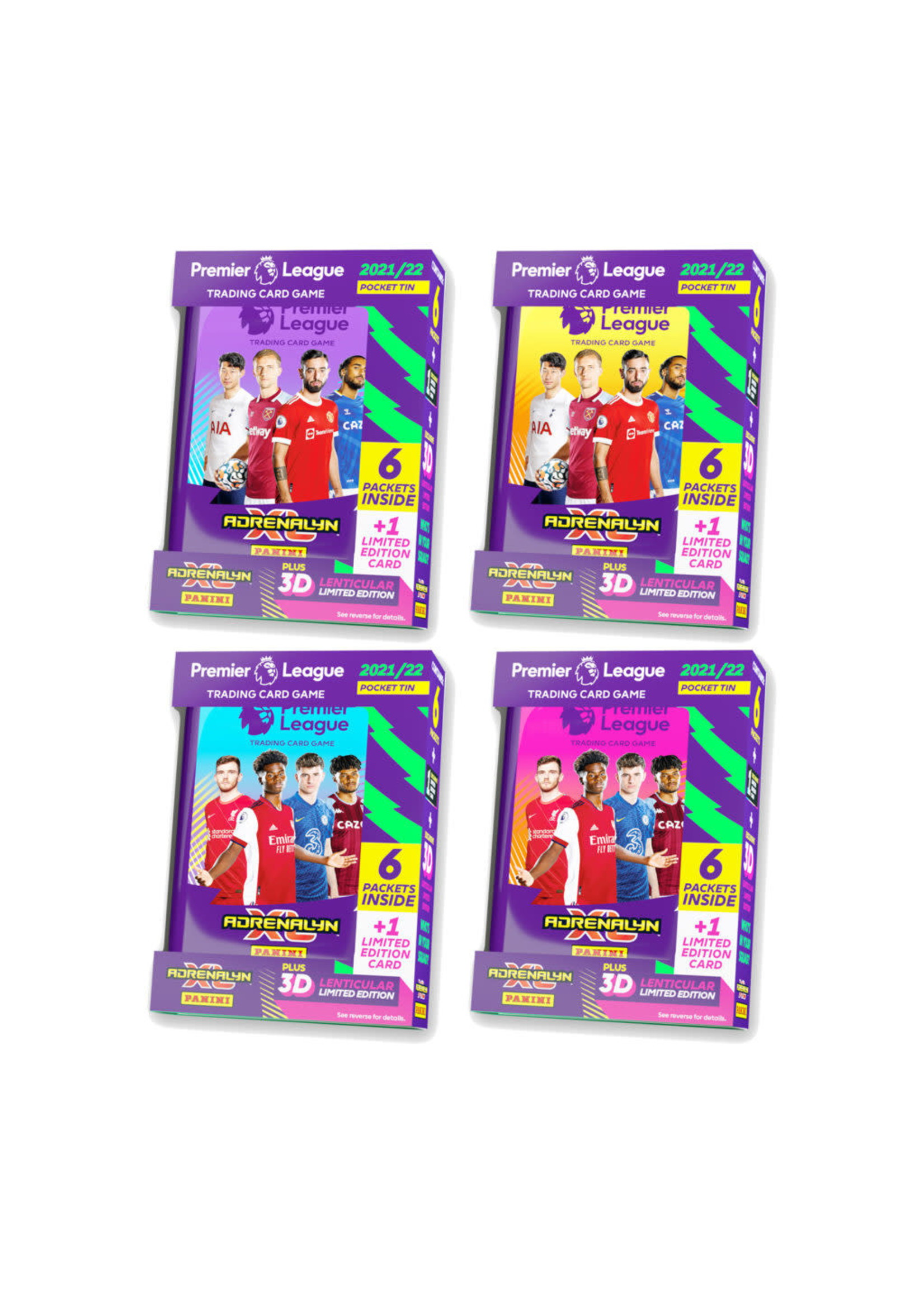 Panini Premier League 21/22 Official Collector Cards - Mini Tins