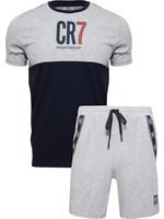 CR7 Loungewear Shorts Set - Grey Youth
