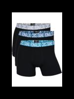 CR7 Boxer Underwear Fashion 3-Pack - Black Adult