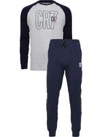 CR7 Loungewear Set - Grey/Navy Youth