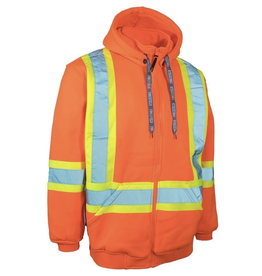 Forcefield High Vis Safety Zip Hoodie