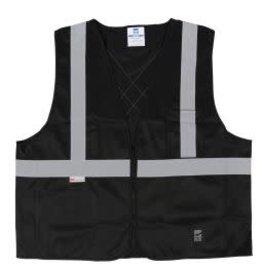 Viking Solid High Vis Safety Vest w/Zipper